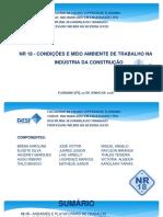 NR 18 - CONDIÇÕES E MEIO AMBIENTE DE TRABALHO NA INDÚSTRIA DA CONSTRUÇÃO (EDITADO).pptx