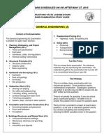 Contractors License - Study Guide