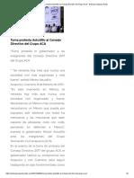 08-02-2017 Toma Protesta Astudillo Al Consejo Directivo Del Grupo ACA.