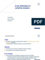 Uncertainty Analysis 2009