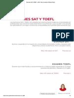 Exámenes SAT y TOEFL - AGM - Becas y estudios en Estados Unidos