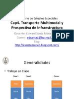 Transporte Multimodal y Prospectiva de Infraestructura