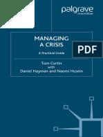 Managing a Crisis