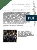NSV Artículo Novicias Lima