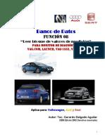 CURSO de ESCANER LAUNCH VW-Bloque de Valores de Medición (1)
