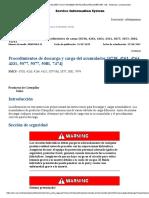 950F Serie II 5SK00001-Procedimiento Desc y Carg Acomulador