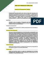 3.1 Glosario de Finanzas Publicas 2014