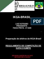 Curso Arbitragem 2018 - Ikga