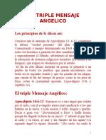 15 El Triple Mensaje Angélico