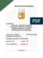 TEMA Biodisel