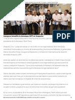 02-03-2017 Inaugura Astudillo La Aeroexpo 2017 en Acapulco.