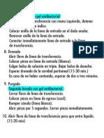 Procedimiento Dialisis parte 2