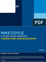 2018 Medtronic Analyst Meeting CVG Review - Coyle