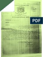 certificado viejo