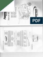 Pramac Powermate PMV1200 PMV3200 PMV6200 PMV7000 Manual de Usuario