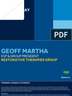 2018 Medtronic Analyst Meeting RTG Presentation - Martha