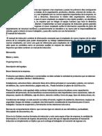 Manual de Inducción