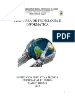 Plan de Area de Informatica Abril 2018