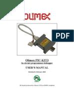 Pic Kit3 Olimex