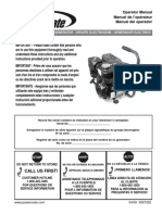 Powermate Pm0103002 User Manual and Parts List (Pramac)