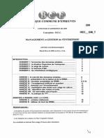 BanqCE Management-et-gestion 2009 HEC