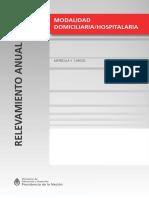 E Modalidad Domiciliaria Hospitalaria