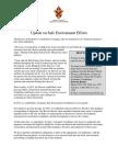 Update on Safe Environment Efforts