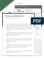 25 Preguntas de Habilidades Docentes I.pdf
