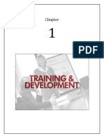 1. Training and Development
