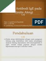 Terapi Antibodi IgE Pada Rinitis Alergi