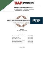 Monografia Bases Biologicas Del Psiquimo Humano