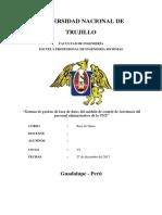 Informe Base de Datos
