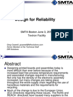Boston Design for Reliability 2015-06-03
