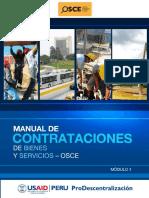Manual de Contrataciones de Bienes y Servicios - OSCE Modulo I.pdf