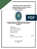 Informe Der. Autonomico