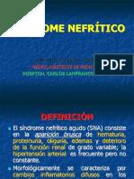 Clase Sindrome Nefrítico