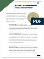 Características y Competencias Del Empresario Moderno