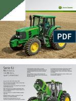 Tractor Serie 6J John Deere