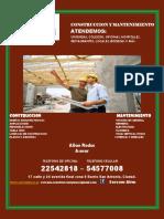 Sercom-Construccion y Mantenimiento