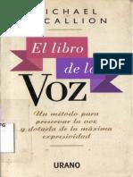Michael Mc Callion - El Libro De La Voz.pdf