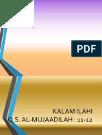 Slide Pelepasan Angkatan Ke VI 2016