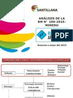 ANÁLISIS DE LA RM N° 199-2015-MINEDU_TRUJILLO