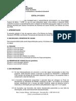 Edital - Selecao i -Para Bolsas Do Nupel 2018