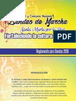 Reglamento Festival y Concurso Nacional de Bandas 2018