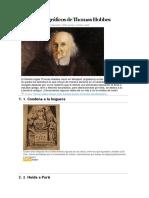10 Datos Biográficos de Thomas Hobbes