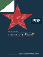 Redescubrir a Marx. Una introducción a la crítica de la economía política