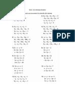 Guía 5 de Sistemas Lineales