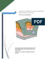 Glosario de Términos Útiles en La Descripción Morfológica de Los Suelos