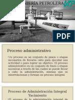 Proceso de Administración Integral Yacimiento