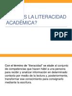 1_Qué Es La Literacidad Académica